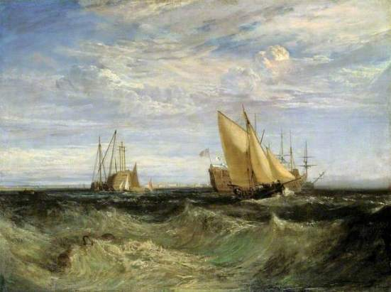 Confluence of the Thames and Medway, JMW Turner